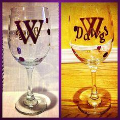 University of Washington Husky college team Wine