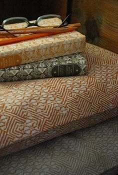 gorgeous welsh printed linen, would make lovely cushions or to cover a chair.
