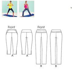 New Kwik Sew Yoga Pants Yeah!