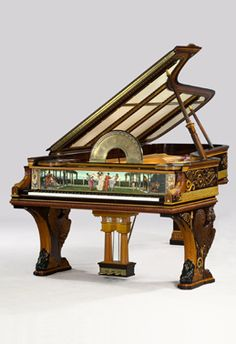 Beautiful vintage Steinway piano.
