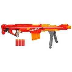 ThinkGeek :: NERF N-Strike Elite Centurion Mega Blaster