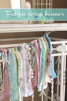 DIY fabric scrap ban