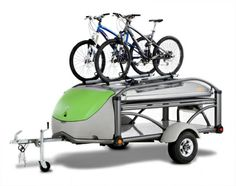 Great Camping Trailer; Click to see how many ways you can use it. This company is right next door to FlyLady Distribution Center.