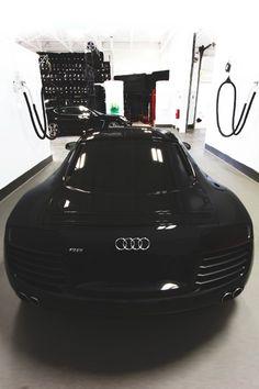 All Black Everything. #Audi