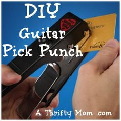 DIY Guitar Pick Punc