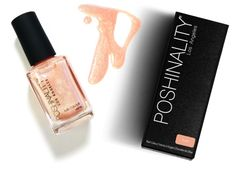 Love this new polish line #Poshinality - gorgeous, deep colors paired for creative mani/pedis. Discovered on #Gloss48 - a new, indie beauty site