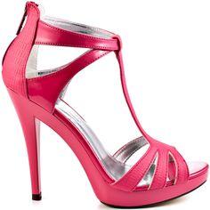 Treacy heels Pink Rep Pu brand heels Michael Antonio