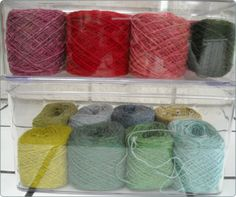 summer hous, offic inspir, yarn storag, craft idea