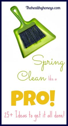 25+ Spring Cleaning Ideas