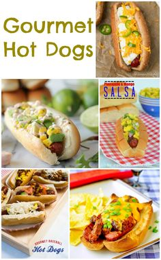 Gourmet Hot Dog Recipes http://www.momsandmunchkins.ca/2014/06/26/hot-dog-recipes/ #HotDogs #Recipes #BBQ
