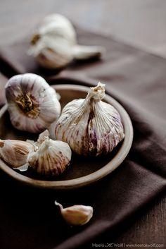 Smoked garlic from @Michelle Averett Wolff