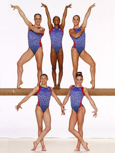 2012 Olympics USA Women's Gymnastics Team  the fab 5