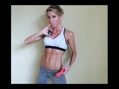 #2 TriBlend Workout Series: Plyometrics, upper arms, butt/back of thighs - YouTube