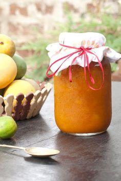 Homemade Mango Jam. #recipes #mangos #jams #food