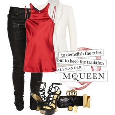 MmmmMcQueen...., created by becksd78 on Polyvore