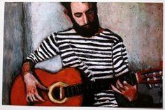 """painting Tali Yalonetzki, """"Seaman"""""""