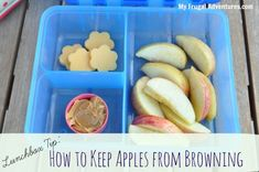 Lunchbox Tip: How to Keep Apples From Browning