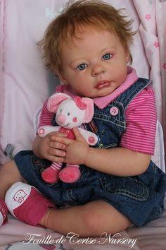 Feuille de Cerise Nursery - reborn baby Olivia by Ann Timmerman ADORABLE | eBay