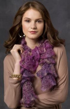 Rotini Scarf Knitting Pattern  #knit