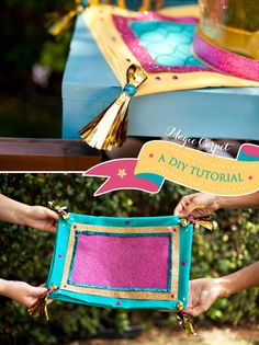 Jasmine decorations and craft ideas!