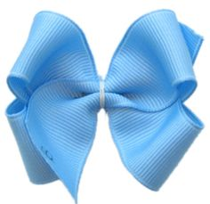 How to make a boutique hair bow.