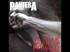 Pantera - Vulgar Display Of Power ( Full Album )