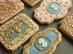 enamel cookies, Sweet Ambs