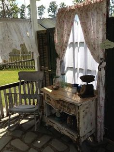 Cute idea for spot on the porch byKim White Trudo 2