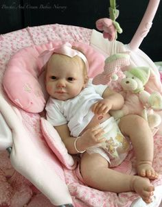 Brand New 'CAMILLE' Reborn Doll Kit By Ann Timmerman | eBay