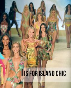 I is for Island Chic from @Sydne Summer  trend guide { #fashion #island #print #trend #inspiration }