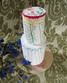 """Love this craft idea for kids -- how to make a """"cake"""" (hint, this one is totally sugar free) http://thestir.cafemom.com/toddler/102478/kids_craft_mothers_day_cake?utm_medium=sm&utm_source=pinterest&utm_content=thestir&newsletter"""