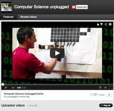 CS Unplugged videos: 50 YouTube videos demonstrating the Computer Science Unplugged kinaesthetic games and activities. These offer practical and entertaining ways to introduce computing concepts to all ages without a computer.