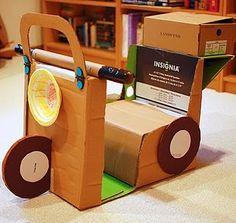 Cardboard scooter #cardboard