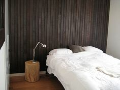 Vertical wood wall
