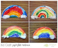 Kid Craft: St. Patrick's Day Rainbows © limefish studio