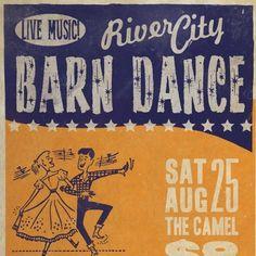 Barn Dance poster idea