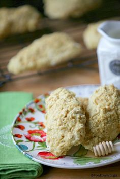 Maple Oatmeal Scones | Food Done Light
