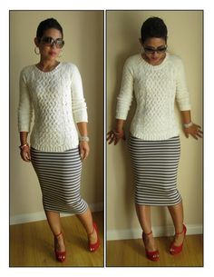 DIY Pencil Skirt: Start to Finish Tutorial w/ Video. Not only great tutorial for the pencil skirt, but that gal's website is FABULOUS!! So many resources and ideas!