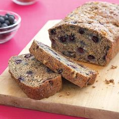 Walnut Blueberry Banana Bread - Clean Eating - Clean Eating