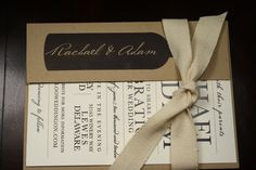 Rustic Vineyard Wedding Invitation Collection by LaBelleVieDesign
