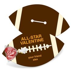 "My son will love to ""pass"" this Valentine out!"