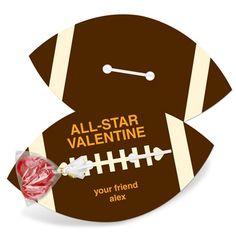 valentine day ideas, boy gifts, valentine day cards, footbal valentin, school parties, valentine cards, valentine ideas, idea valentin, kid