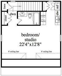 Garage Apartment Plans – Just Garage Plans