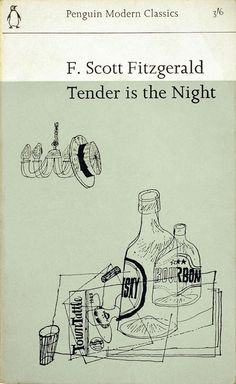 Postcards From Penguin:   100 Book Jackets in One  - Tender is the Night, 1964, cover by John Sewell