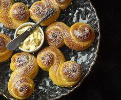 Baked Saffron Falafel