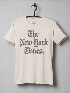 ALTRU New York Times Stacked Tee Shirt | Piperlime
