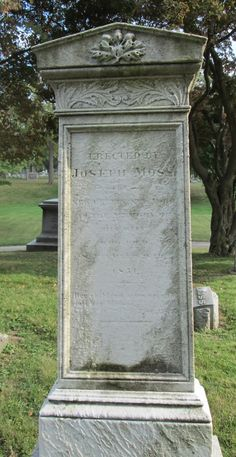 Graveyard Rabbit of Sandusky Bay: Tombstone Tuesday: Mrs. Rhoda Griffith Moss #genealogy #familyhistory
