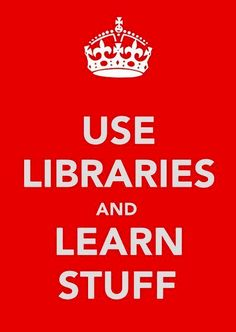 Use Libraries...