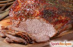 Slow cooker beef brisket recipe | via @SparkPeople #food #holiday #hanukkah #dinner