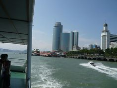 Sister City Xiamen as seen from a ferry